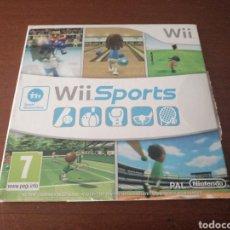 Videojuegos y Consolas: WII SPORTS. Lote 181193813