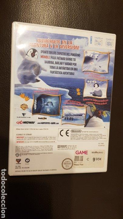 Videojuegos y Consolas: JUEGO NINTENDO WII HAPPY FEET - Foto 2 - 181430576