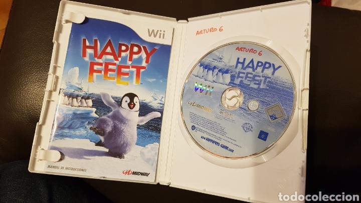 Videojuegos y Consolas: JUEGO NINTENDO WII HAPPY FEET - Foto 3 - 181430576