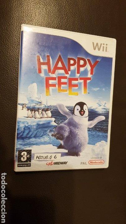 JUEGO NINTENDO WII HAPPY FEET (Juguetes - Videojuegos y Consolas - Nintendo - Wii)