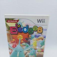Videojuegos y Consolas: ELEDEES NINTENDO WII. Lote 182616812