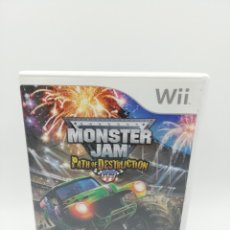 Videojuegos y Consolas: MONSTER JAM PATH OF DESTRUCTION WII. Lote 182671826