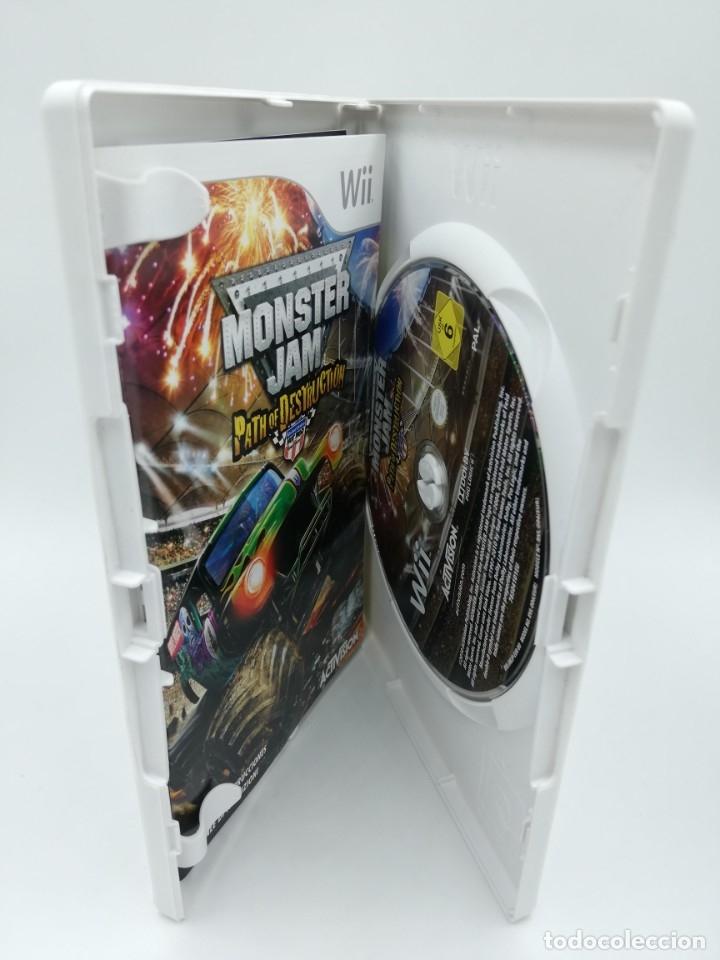 Videojuegos y Consolas: MONSTER JAM PATH OF DESTRUCTION WII + volante - Foto 2 - 182671826