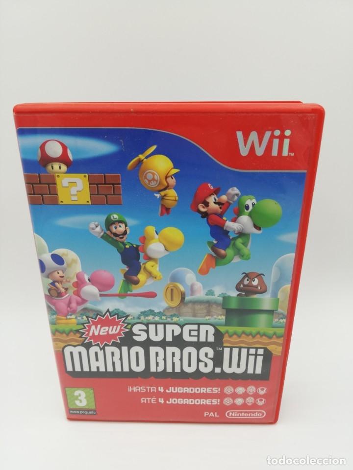 NEW SUPER MARIO BROS WII (Juguetes - Videojuegos y Consolas - Nintendo - Wii)