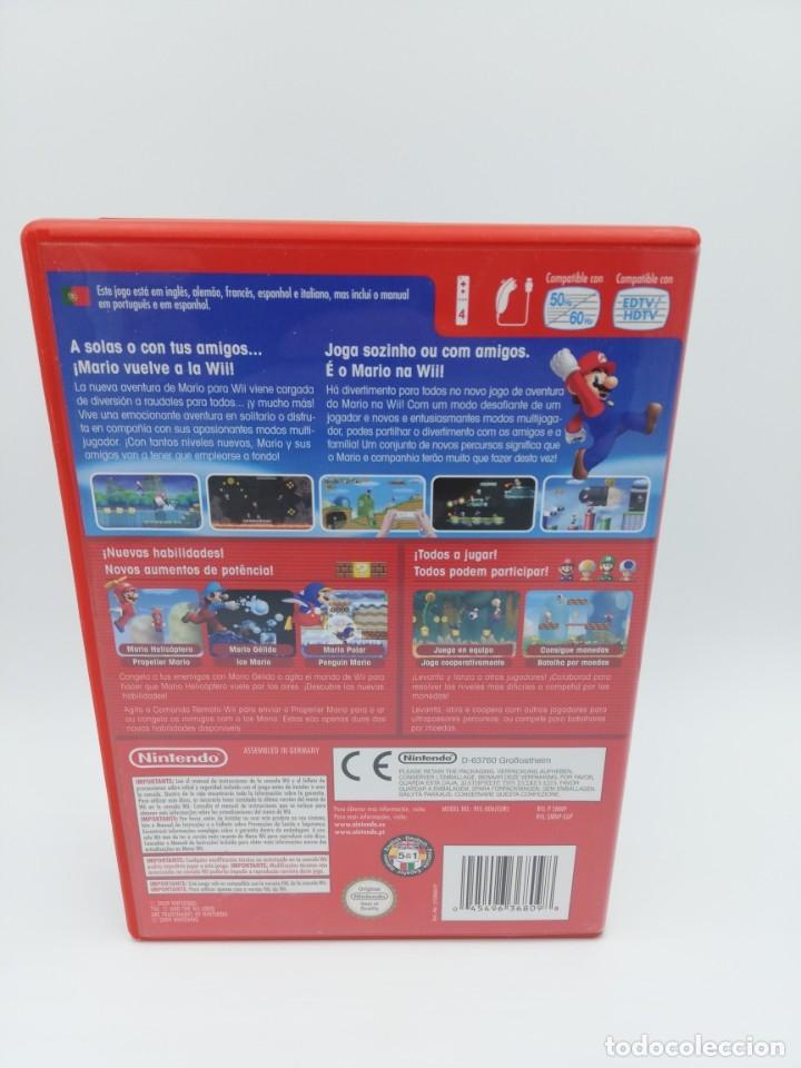 Videojuegos y Consolas: NEW SUPER MARIO BROS WII - Foto 3 - 182672245