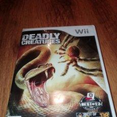 Videojuegos y Consolas: DEADLY CREATURES JUEGO NINTENDO WII. Lote 183836458