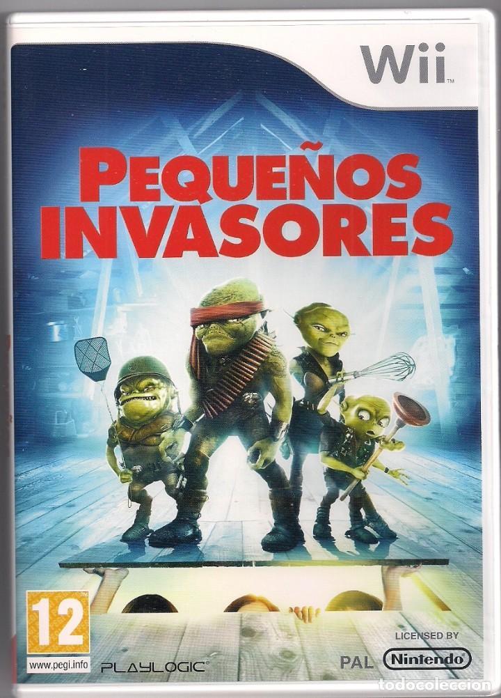 PEQUEÑOS INVASORES (Juguetes - Videojuegos y Consolas - Nintendo - Wii)