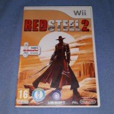 Videojuegos y Consolas: JUEGO RED STEEL 2 PARA WII ORIGINAL EN PERFECTO ESTADO. Lote 185993621