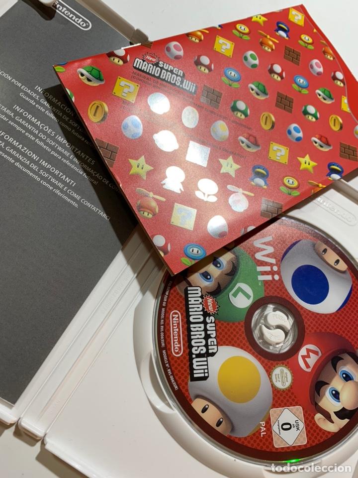 Videojuegos y Consolas: Juego New súper Mario Bros para Nintendo Wii completo con instrucciones - Foto 2 - 186227537
