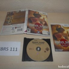 Videojuegos y Consolas: WII - BROKEN SWORD SHADOW OF THE TEMPLARS , PAL ESPAÑOL , COMPLETO. Lote 187528081