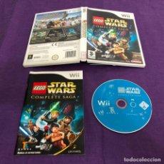 Videojuegos y Consolas: JUEGO LEGO STAR WARS THE COMPLETE SAGA NINTENDO WII. Lote 189343580