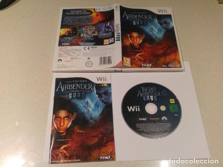 AIRBENDER NINTENDO WII COMPLETO PAL-ESPAÑA (Juguetes - Videojuegos y Consolas - Nintendo - Wii)