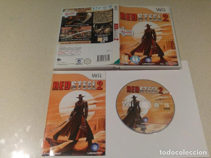 RED STEEL 2 NINTENDO WII COMPLETO PAL (Juguetes - Videojuegos y Consolas - Nintendo - Wii)