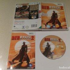 Videojuegos y Consolas: RED STEEL 2 NINTENDO WII COMPLETO PAL. Lote 189702816