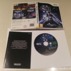 Videojuegos y Consolas: STAR WARS FORCE UNLEASHED 2 NINTENDO WII PAL. Lote 189703032