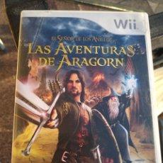 Videojuegos y Consolas: LAS AVENTURAS DE ARAGORN NINTENDO WII. Lote 190014971