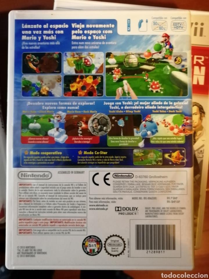 Videojuegos y Consolas: Juego Super Mario Galaxy 2 para Nintendo Wii - Foto 2 - 190418170