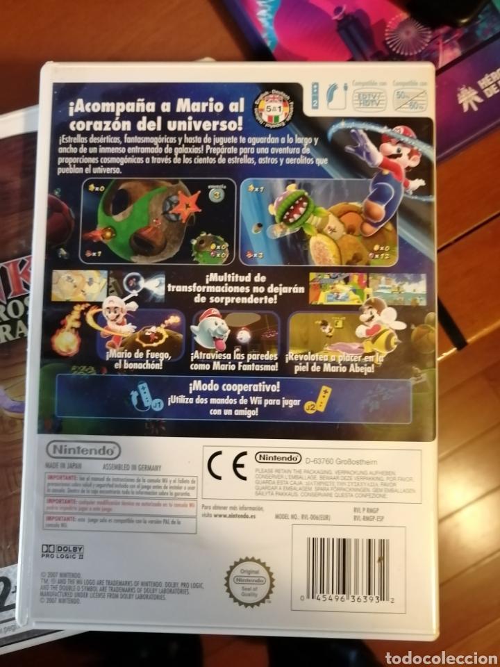 Videojuegos y Consolas: Juego Super Mario Galaxy para Nintendo Wii - Foto 2 - 190442327