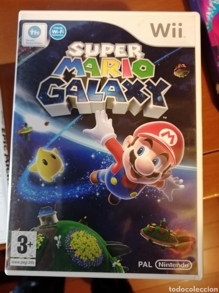 JUEGO SUPER MARIO GALAXY PARA NINTENDO WII (Juguetes - Videojuegos y Consolas - Nintendo - Wii)
