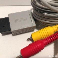Videojuegos y Consolas: CABLE RCA NINTENDO WII - WII U ORIGINAL. Lote 190585201