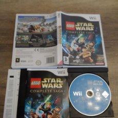 Videojuegos y Consolas: NINTENDO WII LEGO STAR WARS THE COMPLETE SAGA PAL ESP COMPLETO. Lote 191439583