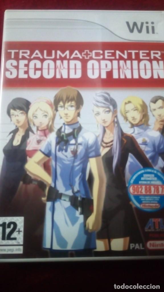 TRAUMA CENTER SECOND OPINION (Juguetes - Videojuegos y Consolas - Nintendo - Wii)