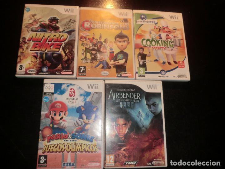 LOTE DE JUEGOS WII (Juguetes - Videojuegos y Consolas - Nintendo - Wii)