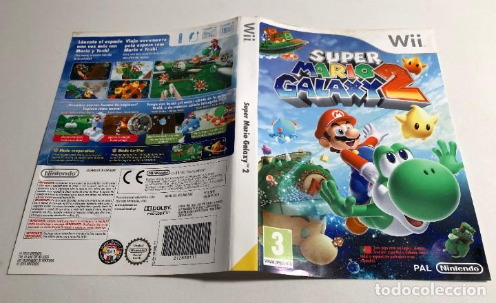 Caratula Super Mario Galaxy 2 Nintendo Wii Buy Video Games And Consoles Nintendo Wii At Todocoleccion 191877525