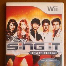 Videojuegos y Consolas: JUEGO WII SEGUNDA MANO SING IT DISNEY. Lote 192112298