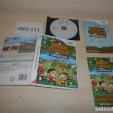 Videojuegos y Consolas: WII - ANIMAL CROSSING - LET,S GO TO THE CITY , PAL ESPAÑOL , COMPLETO. Lote 193274255