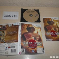 Videojuegos y Consolas: WII - BROKEN SWORD , SHADOW OF THE TEMPLARS , PAL ESPAÑOL , COMPLETO. Lote 193274493