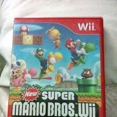 Videojuegos y Consolas: NEW SUPER MARIO BROS WII. Lote 193791031