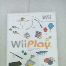 Videojuegos y Consolas: WII PLAY. Lote 193792383