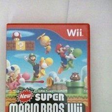Videojuegos y Consolas: NEW SUPER MARIO BROS WII. Lote 193792671
