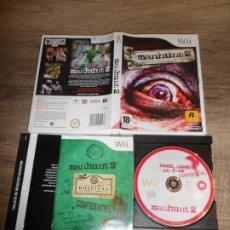 Videojuegos y Consolas: NINTENDO WII MANHUNT 2 PAL ESP COMPLETO. Lote 193951857