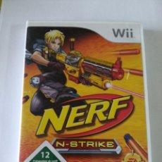 Videojuegos y Consolas: NERF N-STRIKE PARA NINTENDO WII. Lote 193993197