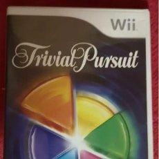 Videojuegos y Consolas: JUEGO NINTENDO WII TRIVIAL PURSUIT. Lote 194066086