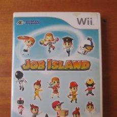 Videojuegos y Consolas: JOB ISLAND (NINTENDO WII). Lote 194077557