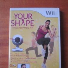 Videojuegos y Consolas: YOUR SHAPE (NINTENDO WII). Lote 194253520