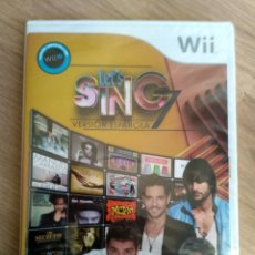 Videojuegos y Consolas: NINTENDO WII JUEGO LET'S SING 7 NUEVO Y PRECINTADO. Lote 194529610