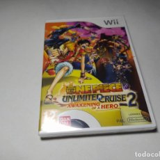 Videojuegos y Consolas: ONE PIECE UNLIMITED CRUISE 2 ( PRECINTADO) ( NINTENDO WII - WII U - PAL - ESPAÑA) . Lote 194564857