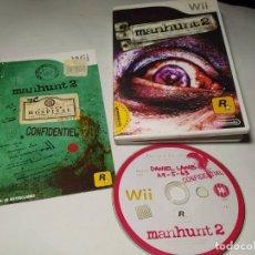 Videojuegos y Consolas: MANHUNT 2 ( NINTENDO WII - WII U - PAL - ESPAÑA) . Lote 194564908