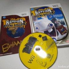 Videojuegos y Consolas: RAYMAN RAVING RABBIDS 2 ( NINTENDO WII - WII U - PAL - ESPAÑA) . Lote 194565276