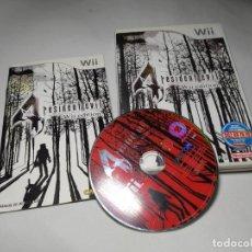 Videojuegos y Consolas: RESIDENT EVIL 4 WII EDITION ( NINTENDO WII - WII U - PAL - ESPAÑA) . Lote 194565393