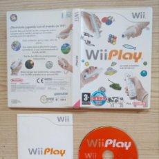 Videojuegos y Consolas: JUEGO NINTENDO WII - WII PLAY. Lote 194666143