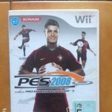 Videojuegos y Consolas: PRO EVOLUTION SOCCER 2008 PES - NINTENDO WII - PAL ESPAÑA . Lote 194960830