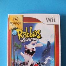 Videojuegos y Consolas: NINTENDO WII - RABBIDS MI CAAASA!!! - EDICIÓN ESPAÑOLA. Lote 195344442