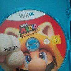 Videojuegos y Consolas: JUEGO SUPER MARIO WORLD 3D WII SOLO CD SIN CAJA. Lote 195435632