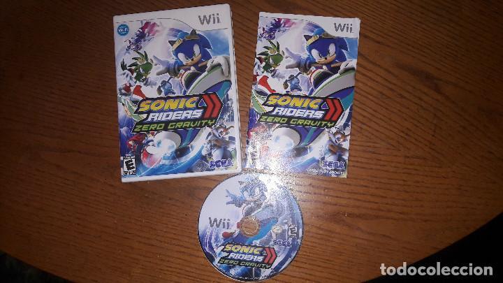 JUEGO NINTENDO WII SONIC RIDERS ZERO GRAVITY (Juguetes - Videojuegos y Consolas - Nintendo - Wii)