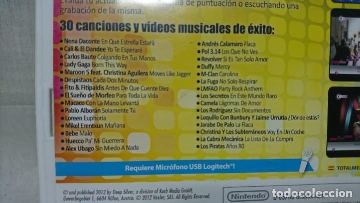 Videojuegos y Consolas: LOTE CONSOLA WII, WE SING POP, MICRÓFONOS Y JUEGOS, KARAOKE - Foto 8 - 202593220